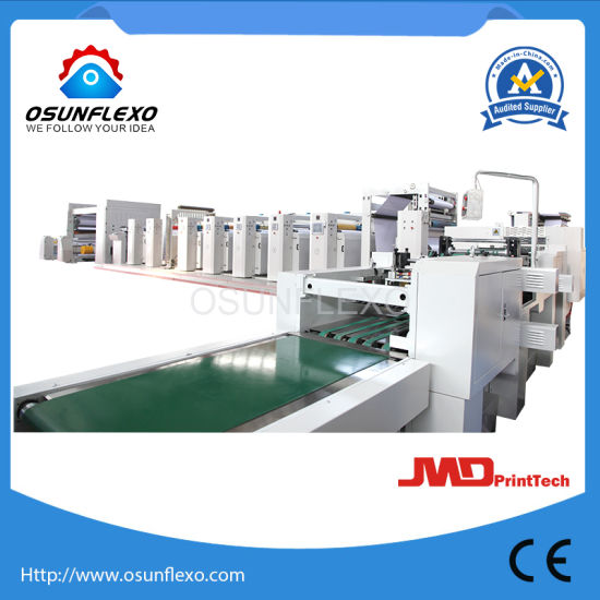 Multifunctional Packaging Flexo Printing Machine Flexo Printer for Paper Cups and Bags Printing 220m/Min