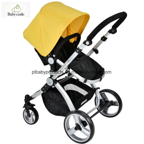 Style Baby Jogger Stroller With, Yellow Car Seat And Stroller