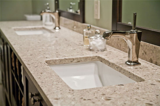 china quartz bathroom vanity colors tops menards grey countertops