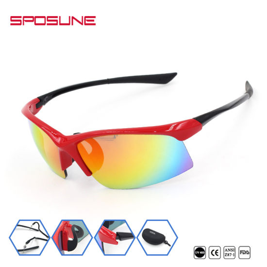 d5574554b0601 Outdoor Eye Protection Prescription Sports Sunglasses Scratch Resistant  Safety pictures   photos