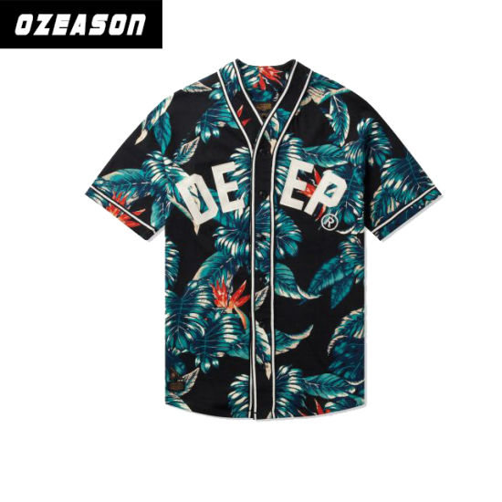 10069f15 Sublimated Baseball Jersey Philippines Custom Infant Baseball Jersey, Hawaii  Style Baseball Jersey pictures & photos
