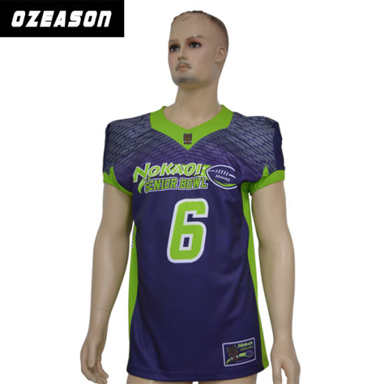 aa69f1e0b68 Sublimated American Football Uniforms, Wholesale Customized American  Football Shirt pictures & photos