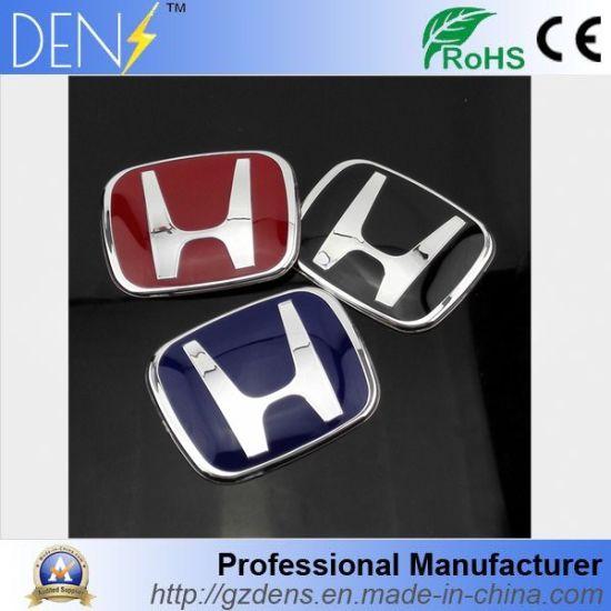 China Red Car Acrylic Emblem Jdm Badge Logo For Honda China Logo
