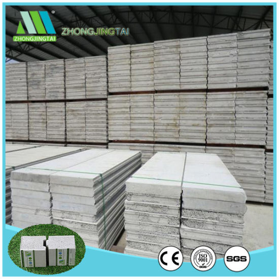 Building Material Fireproof/Lightweight EPS Cement Sandwich Panel for Roofing/Flooring