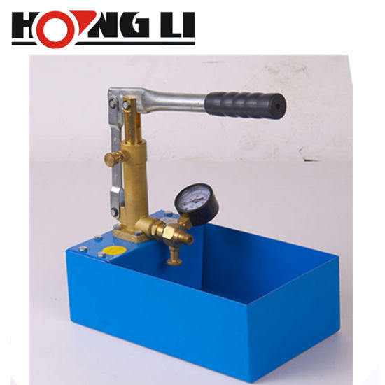 5L Pressure Test Water Pipe Line Leakage Tester Pump Heating System 40 Bar 5 MPa