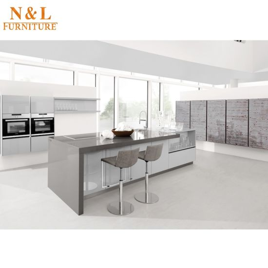 Vogue White High Gloss Lacquered Replacement Kitchen: China Modern Style White Color High Gloss Lacquer Wood