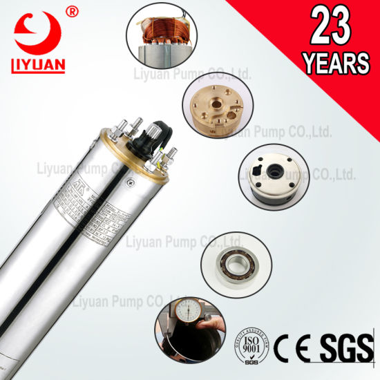 Liyuan 2HP Multistage Stainless Steel 220V Submersible Single Phase Motor