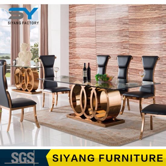 Furniture Factory Gl Dining Table