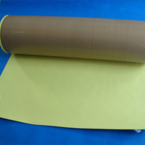 New Product Adhesive Fiberglass Fabric with PTFE Coated pictures & photos