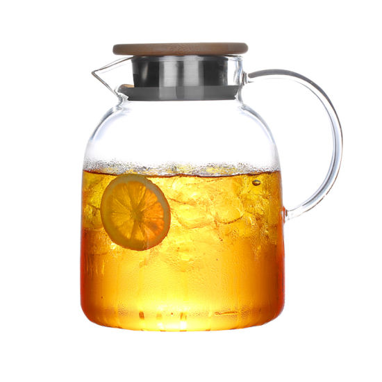Glass Jug Glass Water Jug Glass Beverage Jug Glass Tea Kettle Glass Teapot Glass Drink Jug Glass Pitcher pictures & photos