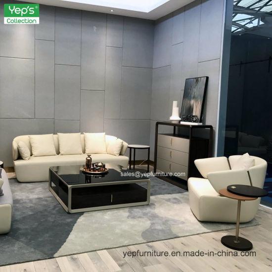 china aluminum metal frame modern fashion side cabinet living room