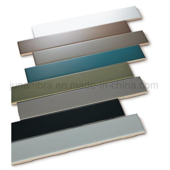 Kitchen Decoration Simple Korean Style Design Stripe Glazed Tile50X300mm
