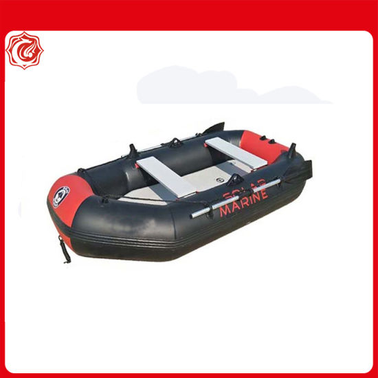 6.5FT 2m 2 Person Air Floor PVC Inflatable Portable Boat