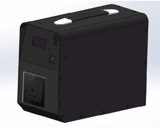 Big Capacity Portable Power Battery 1440W (14.4V100Ah) for Outdoor