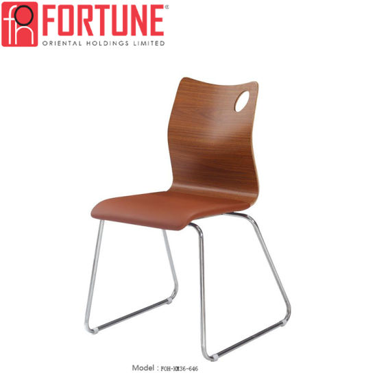 Excellent Quality Cheap Stackable Leather Bentwood Chair For Selling  (FOH XM36 646)