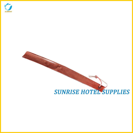 China New Arrival Hotel Wooden Shoe Horn China Shoe Horn Wood