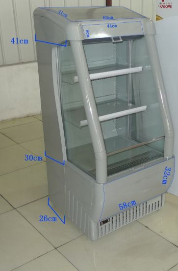 Plug in Dairy Drink Display Open Chiller for Pepsi pictures & photos