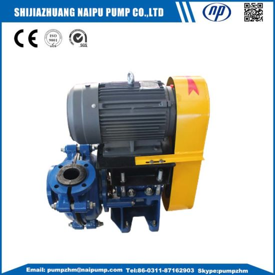 14/12f-Ah Solid Handling Mineral Process Horizontal Slurry Pump pictures & photos