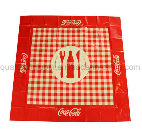 OEM Disposable PE Picnic Mat Blanket Placemat Tablecloth pictures & photos
