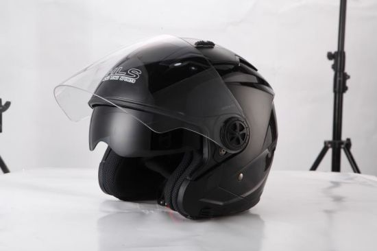 New Open Face Flip up Motorcycle Helmets with Double Visor