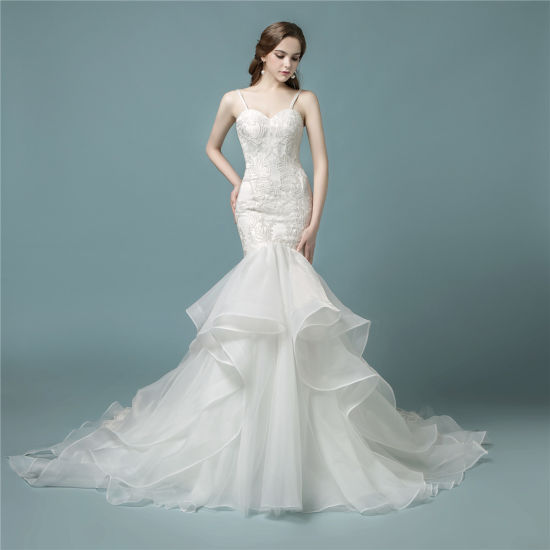 China Amelie Rocky 2018 Lace Bridal Wedding Dress Mermaid - China ...