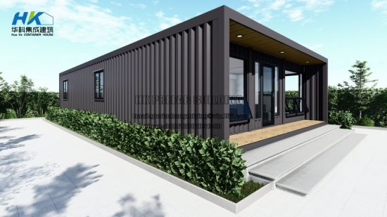 3X 40FT Modular Prefabricated Container House. pictures & photos