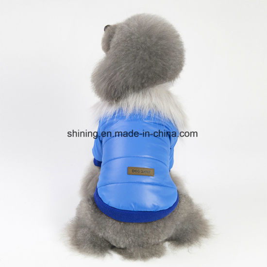 Pet Dog Products Warm Winter Clothes Jumpsuit Hoodie Puppy Apparel Coat pictures & photos