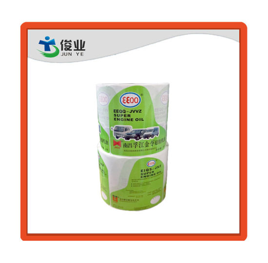 High Adhesive Machine Oil Label Sticker Printing pictures & photos
