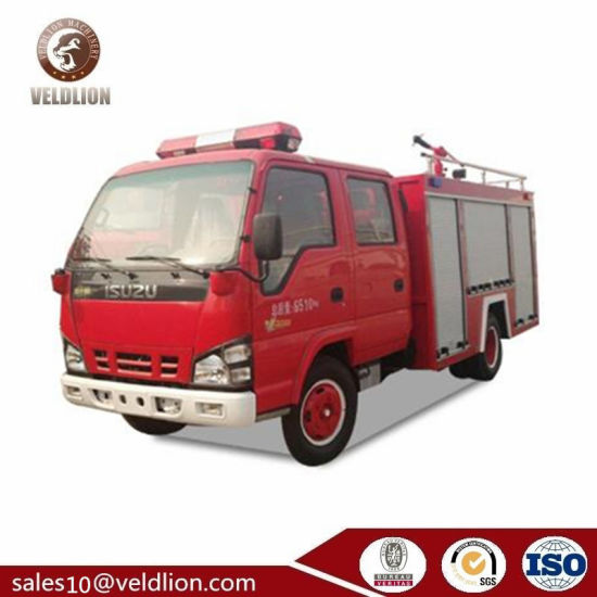 Factory Price Sale Water Firefighting Truck Firefighting Apparatus 5000L Fire Fighting Truck