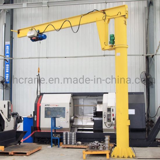 Light Duty Electric Jib Crane Cantilever Crane 1t for Sale