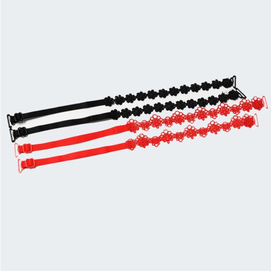 Multi-Color Fashion Multi-Color Elastic Fashion Stripe Adjustable Woman Female Bra Strap Elastic Shoulder Strap Bra Accessories Strap Bra