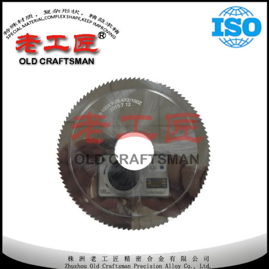Hard Allloy Saw Blades for Nonferrous Metal Cutting pictures & photos