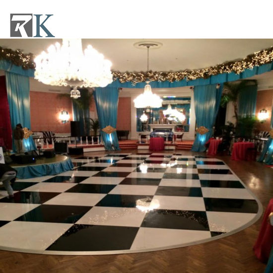 Oak Parquet Dance Floor Wooden Dance Floor for Party Event pictures & photos