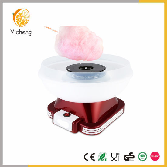Electric Retro Cotton Candy Floss Maker Machine for Home Use pictures & photos