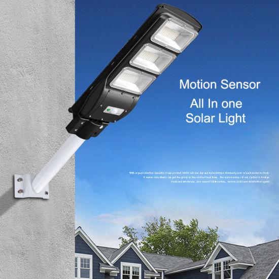 Motion Sensor Solar Led Street Light, Remote Motion Sensor For Outdoor Lights