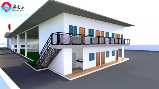 Economical and Practical Steel Structure Warehouse Is Used for Storage, Office and Operation