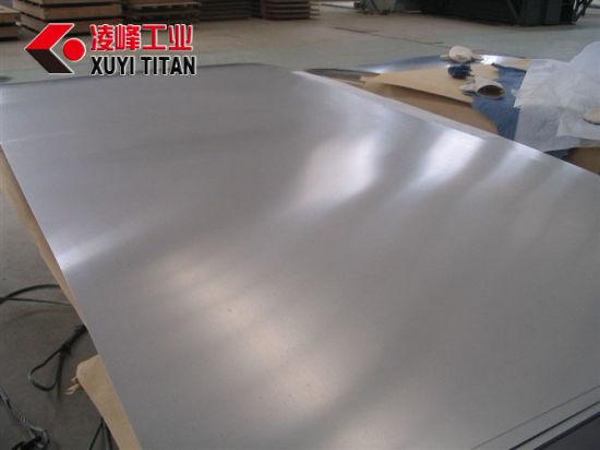 High Quality Industrial ASTM B265 Ti6al4V Titanium Plate/Sheet 0.3~80mm