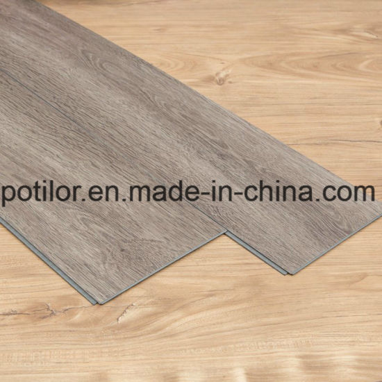 Easy-Install PVC Lvt Vinyl Clic Flooring Tiles / Interlock Flooring Planks pictures & photos
