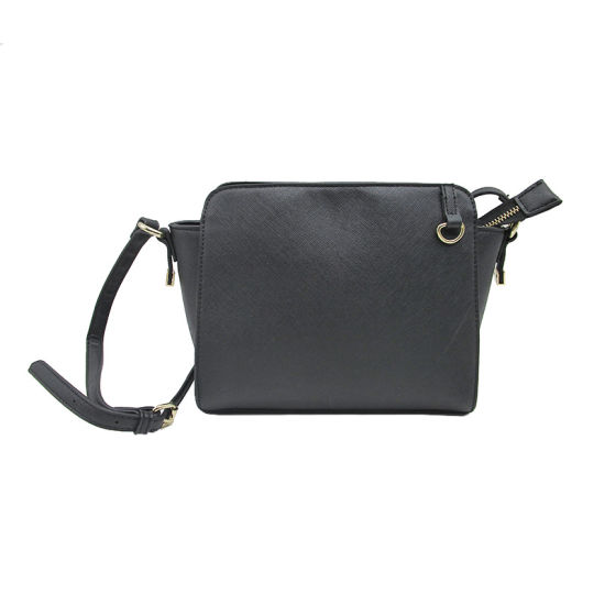 Guangzhou Factory Woman Tote Bag Pu Lady Whole Crossbody Simple Style Shoulder