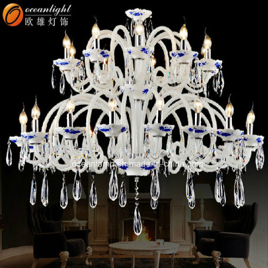Modern Luxury European Style Crystal Candle Chandelier Lighting 88020-5