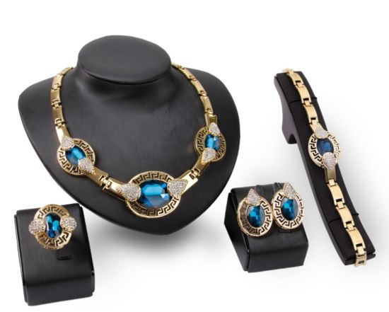 2018 Hot Sale Jewelry Sets Necklace and Earrings Sets for Women Wedding Fashion Jewelry pictures & photos