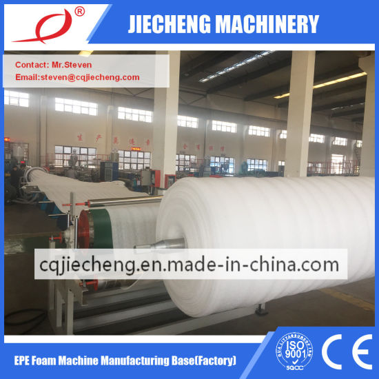 EPE Foam Sheet Film Production Line Jc-200mm Machine Extruder Plastic Machinery Extrusion Manufacturer pictures & photos