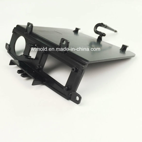 China Custom Black ABS Plastic Injection Molding Case Parts Plastic