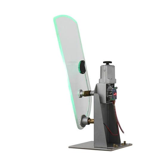 Optical Turnstile Mechanism Flap Barrier with RFID Card