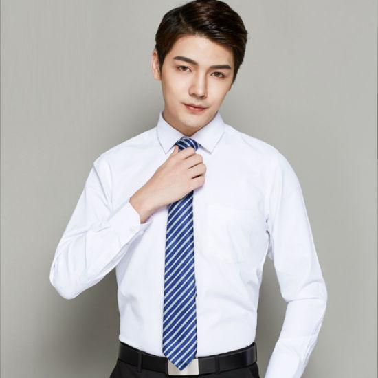 Customize Style Cotton Men Formal Long Sleeve Dress Shirt