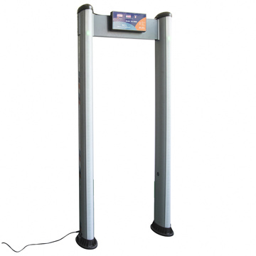 Outdoor Use Plastic Portable Walk Through Metal Detector pictures & photos