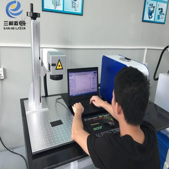 Deep Engraving 50W 60W Portable Desktop Fiber Laser Marking Machine Jewelry  Cutting Machine