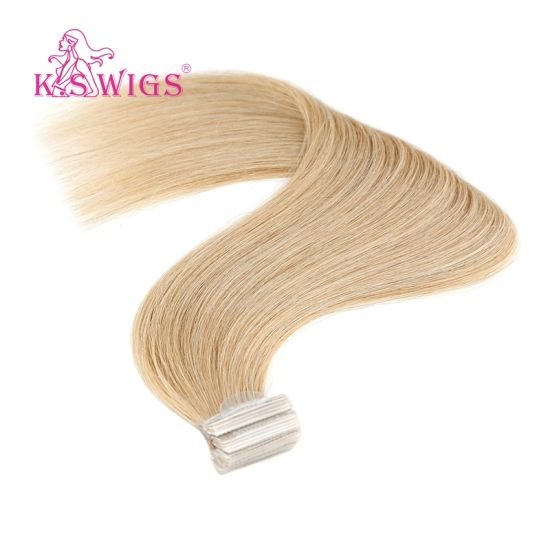 Remy Brazilian Remy Hair Extensions PU Skin Hair Weft pictures & photos