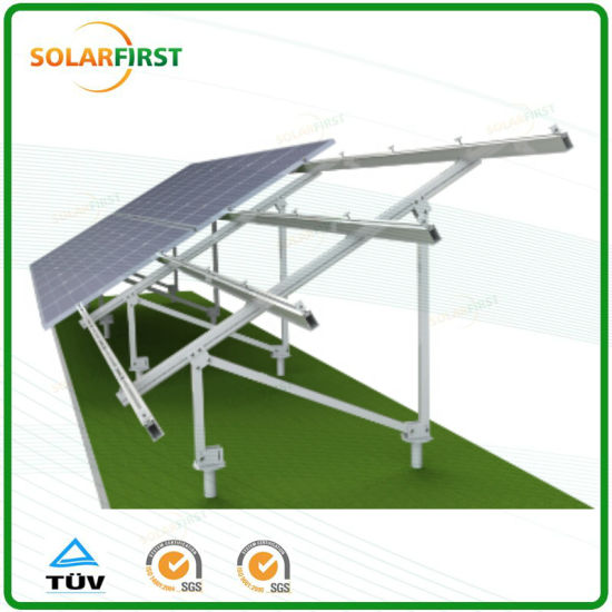 500kw on Grid Ground Screw Solar Mounting System pictures & photos