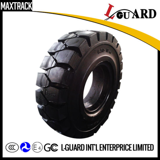 6.50-10 Solid Forklift Tire, China Solid Tyre, Tire Forklift pictures & photos